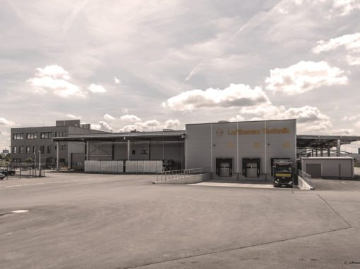 Lufthansa Technik AG Räder- und Bremsenwerkstatt Frankfurt
